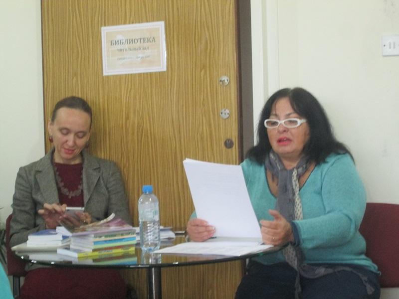 Лариса Кузьминская и Ольга Бельзер